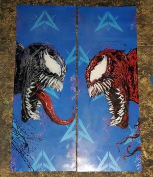 Venom Carnage Panels
