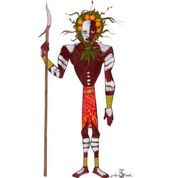 Omo Tribesman by Torsle