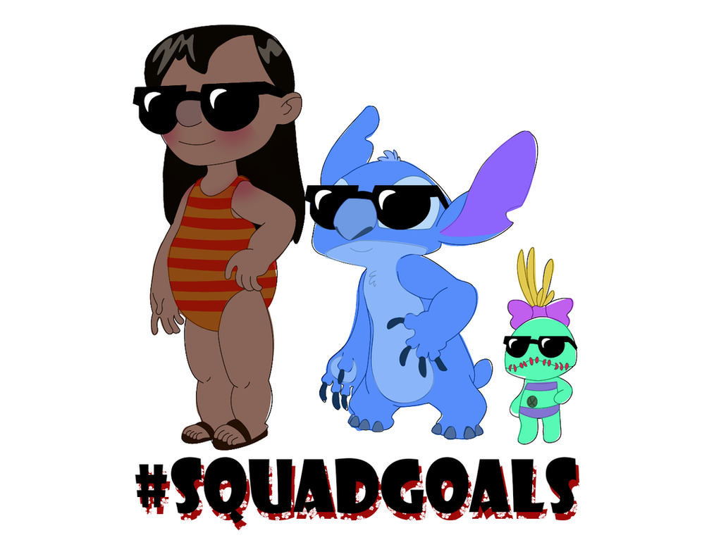 Lilo And Stitch Squad Goals by Torsle