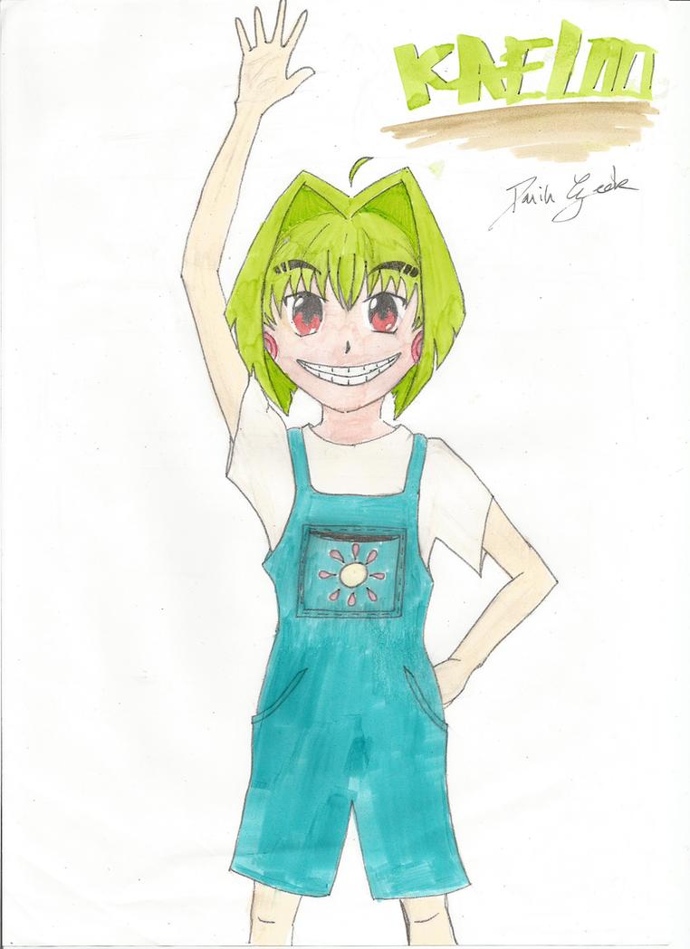 Kaeloo manga fan art by DarinGeek