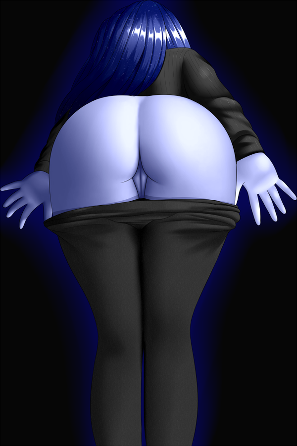 Princess Luna Butt by TwistedScarlett60
