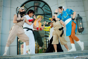 Street Fighter group by coffeejelly