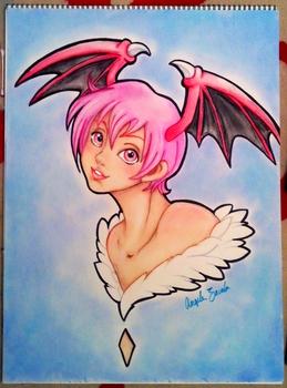 Lilith chalk pastel