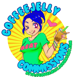 Commissions logo by coffeejelly