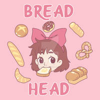 Kiki's Delivery Service Bread Head~