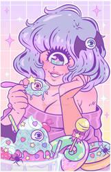 Monster Girl Eyescream