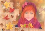 Puzzle Portrait 3 by Kot-Filemon