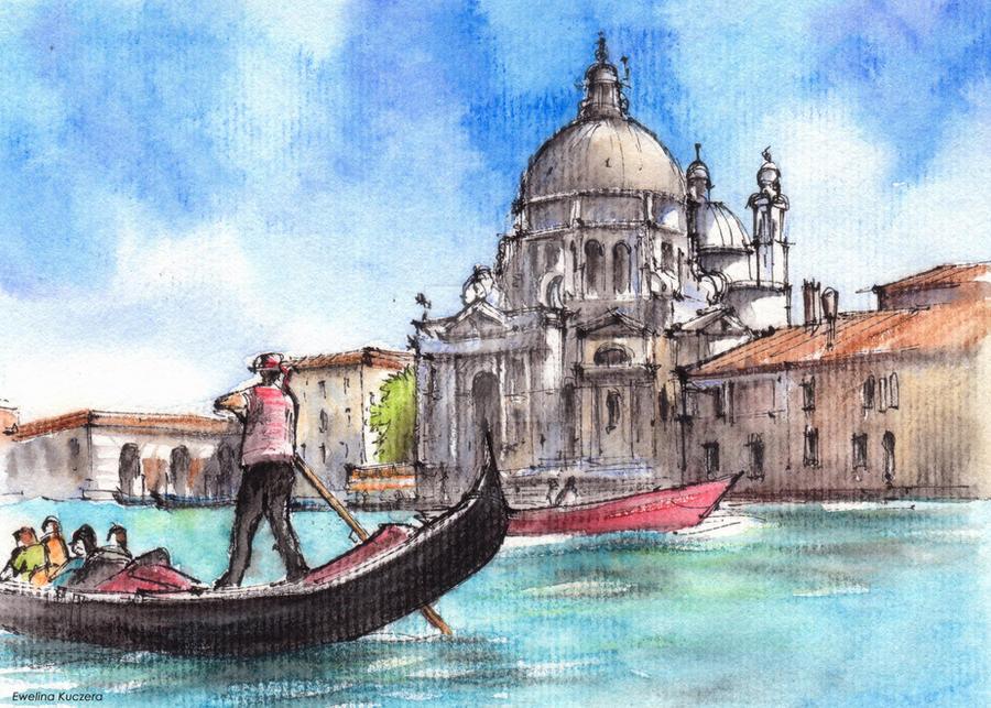 Venice sketch by kot filemon on deviantart for Venice craft fair 2017