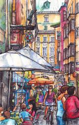 Innsbruck Illustration by Kot-Filemon