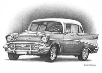 Old Car - Graphite pencil drawing by Kot-Filemon