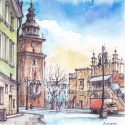 Town Hall Tower - Cracow, Poland