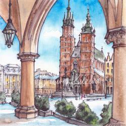 St Mary's Basilica - Cracow, Poland