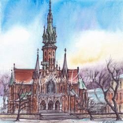 St Joseph's Church - Cracow, Poland