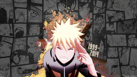 Thank You Naruto 1999-2014 by alegks