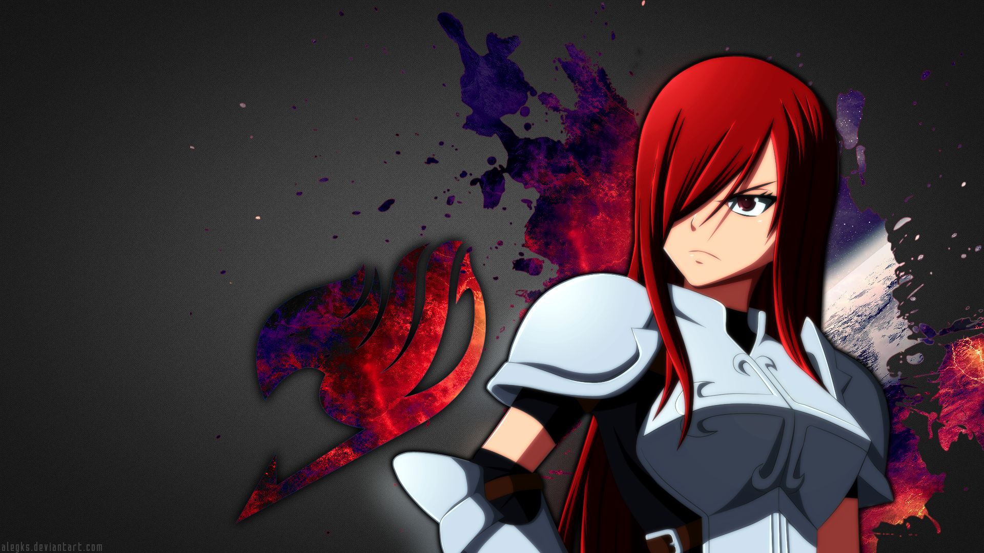 Erza Scarlet [Fairy Tail Wallpaper]