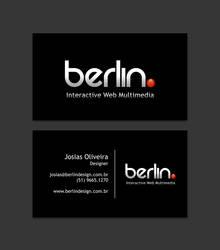 Berlin. Business Card by JosiasOliveira