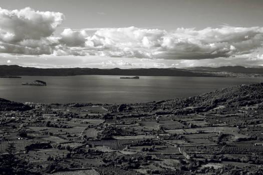 il lago da montefiascone