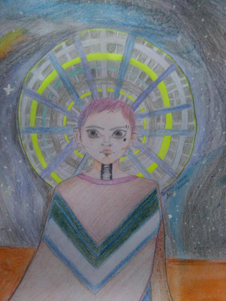 Deserted space boy by Bora20