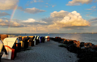 A summer evening at the Baltic Sea by Esperimenti