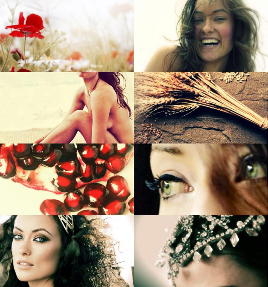 Persephone by Ariyaunna