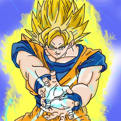 SSJ Goku by Recca54