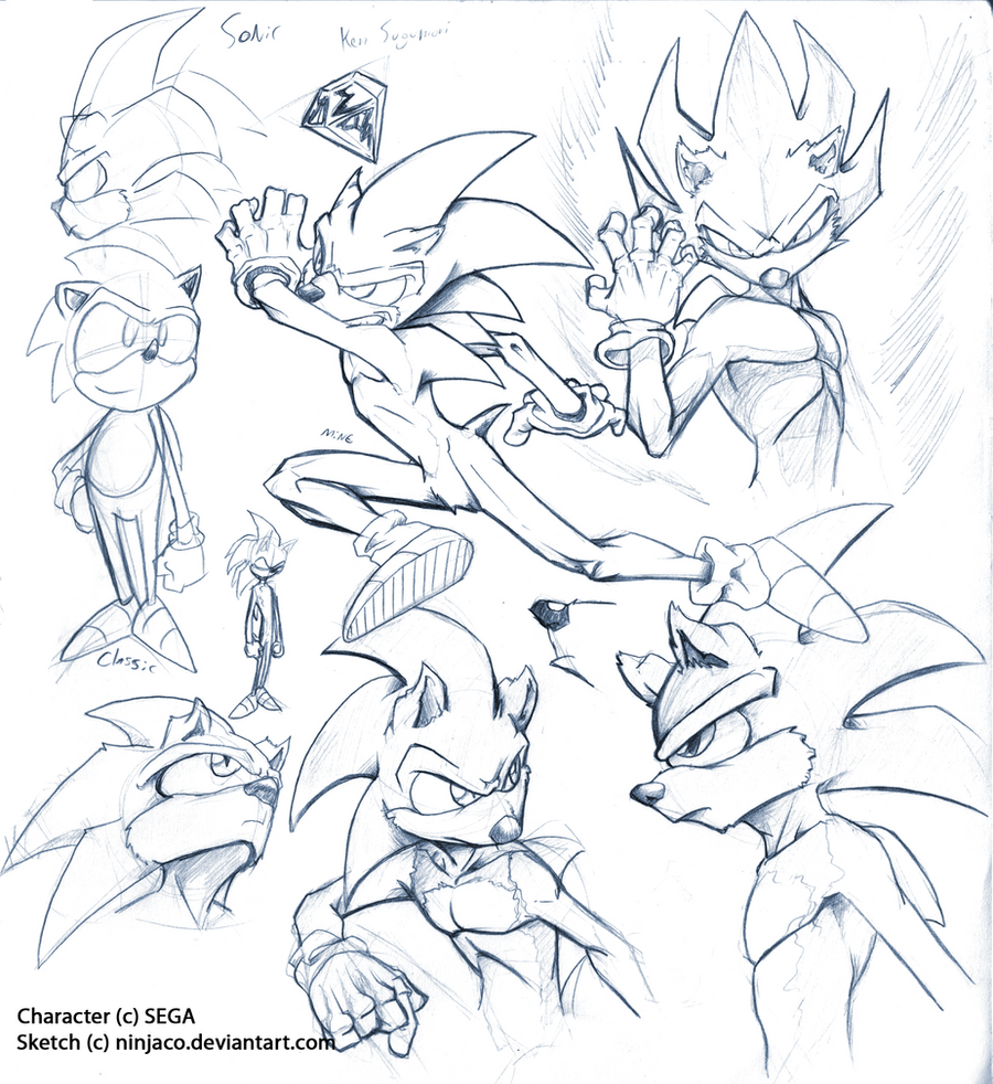Sonic Fighter Structure by Ninjaco
