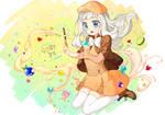 CookieRun Fan art - Cream Puff Cookie