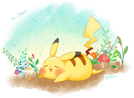 Pokemon - Pikachu by potco