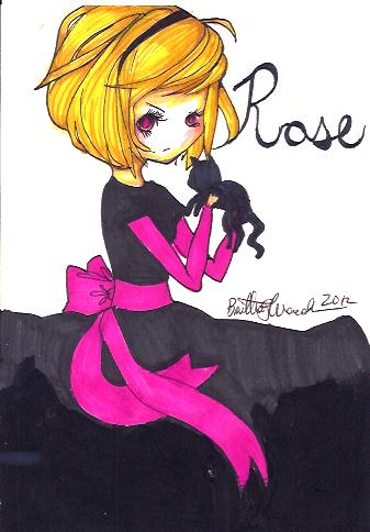 Rose Lalonde chibi by TravelersDaughter