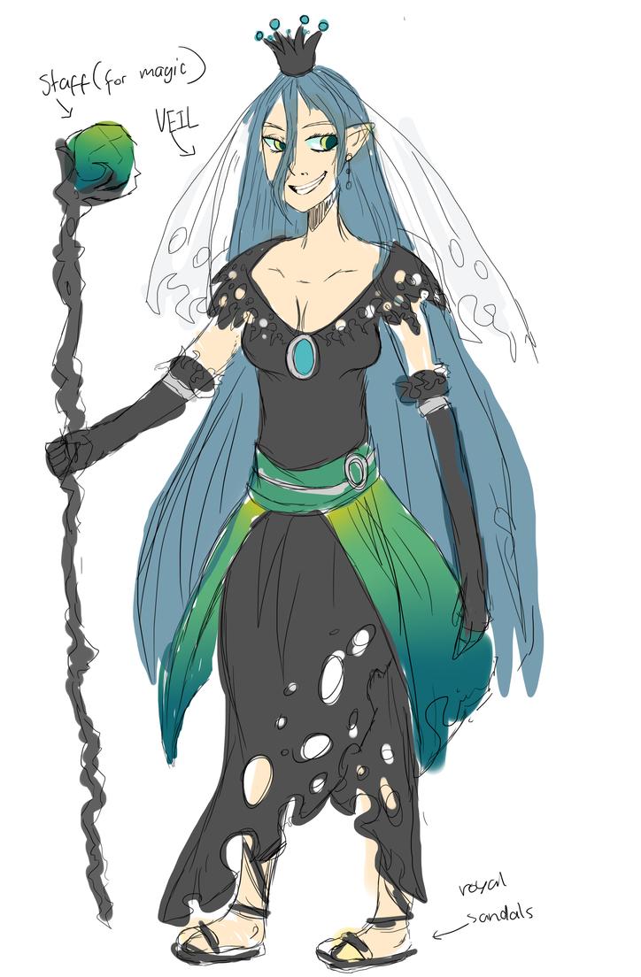 queen chrysalis by narcio