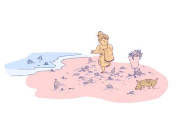 Dirty Beach by BellaPotchy