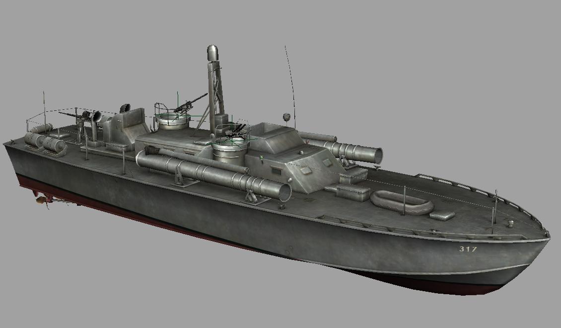 Elco 80' PT-boat by baldson on DeviantArt