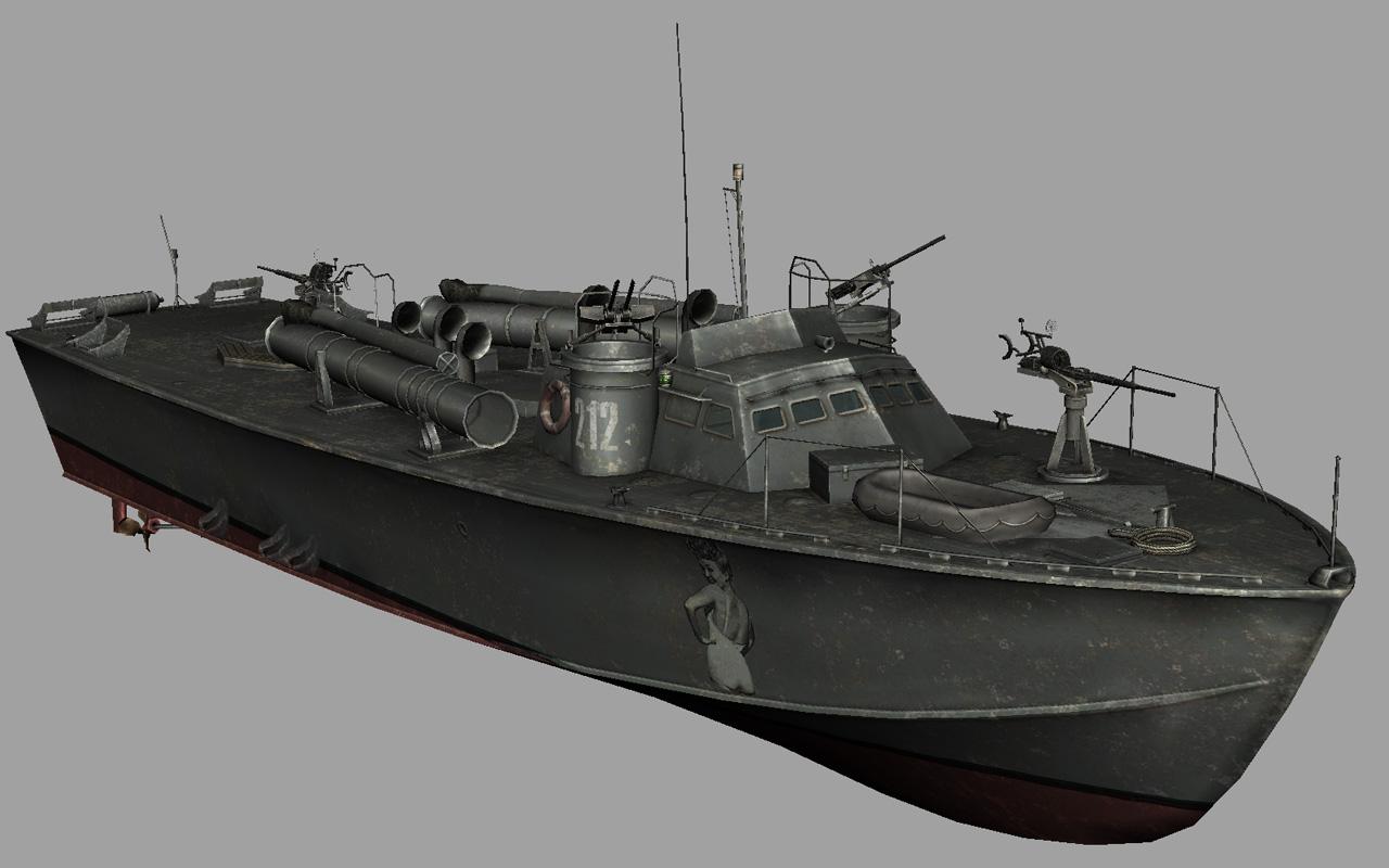 Higgins pt boat plans
