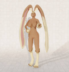 Anthro Lopunny by AJMacalucius