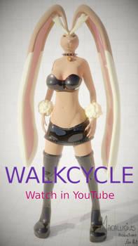 Anthro Lopunny Walkcycle