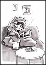 Inktober #22 It's Cold by teeyu