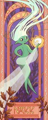 Mucha Mermaid