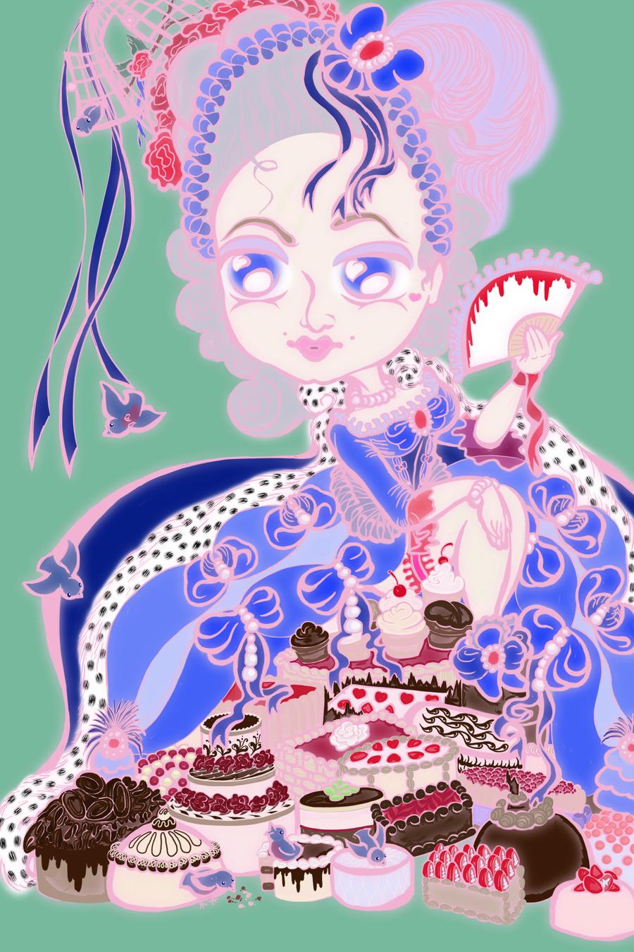 Marie Antoinette by pumqin
