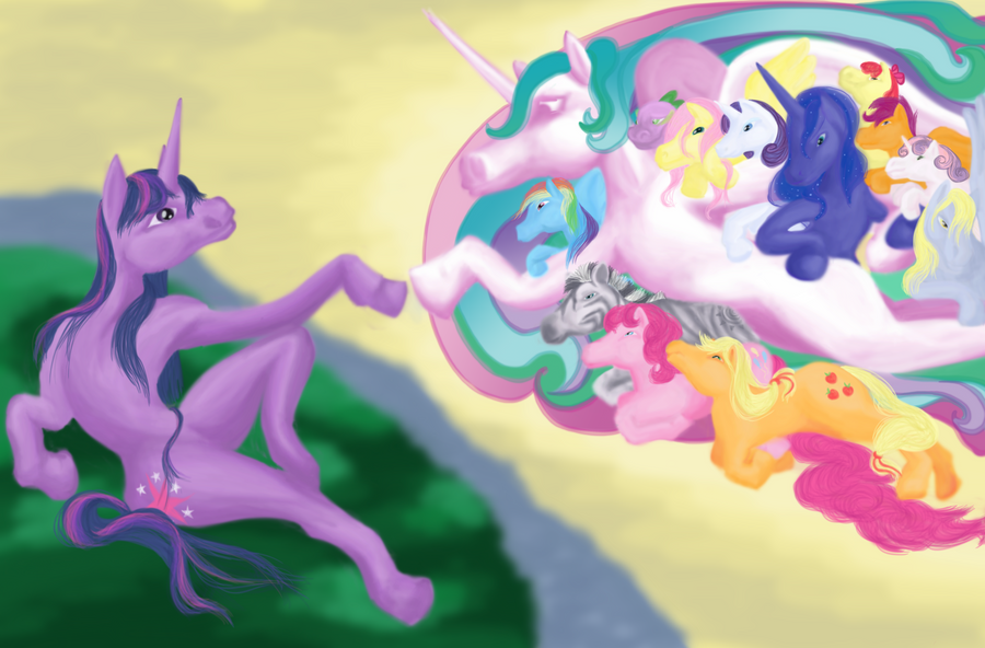 The Creation of Friendship by pumqin