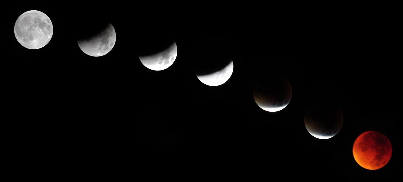 Lunar eclipse by Valdkynd