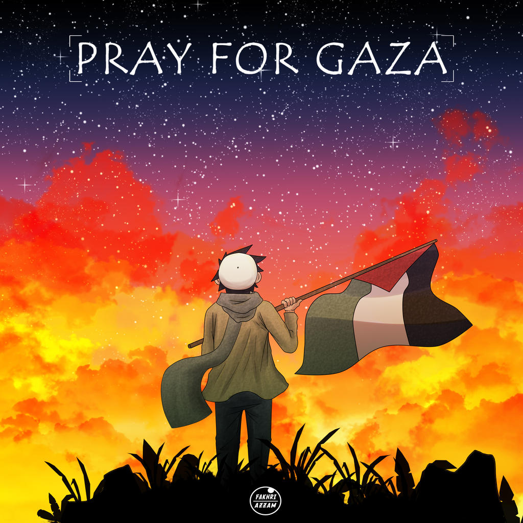 Pray for Gaza by Fakhriii