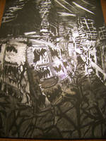 scratch board of abandoned town by imthetarget