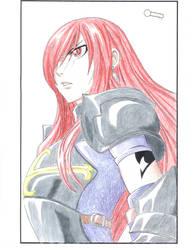 Erza Scarlet colored