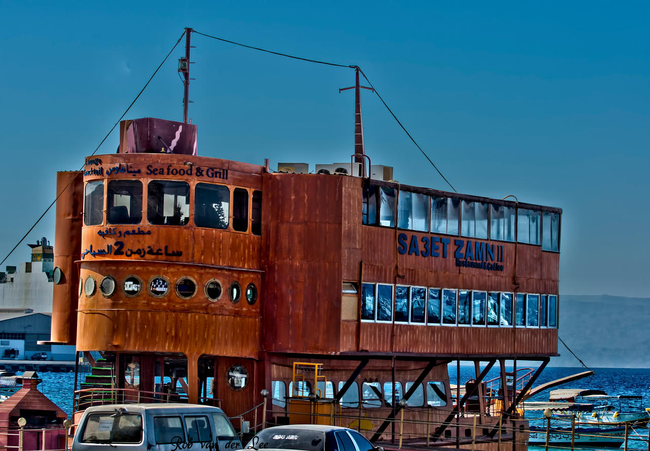 Floating restaurant by forgottenson1