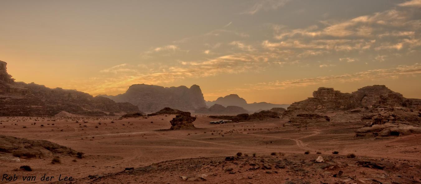 Yellowish desert by forgottenson1