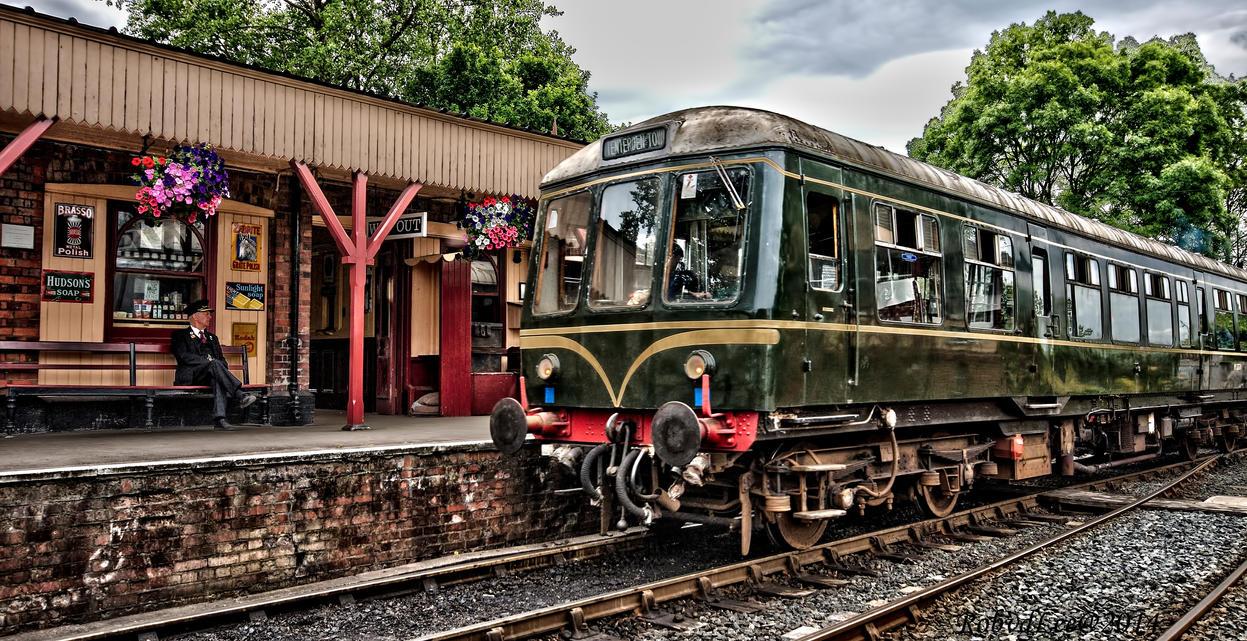 Train spotting by forgottenson1