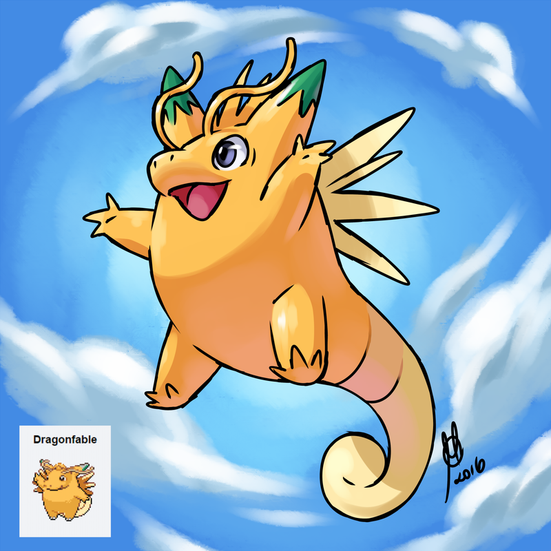Dragonite Clefable Fusion 642174321