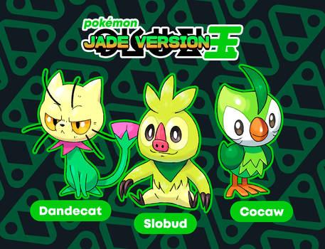 jade version starters