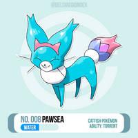 008 Pawsea by BrasioPkmn