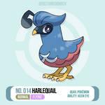 014 Harlequail